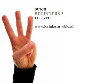 Dutch Courses Amsterdam KATAKURA WBLC - DUTCH BEGINNERS 3 newest